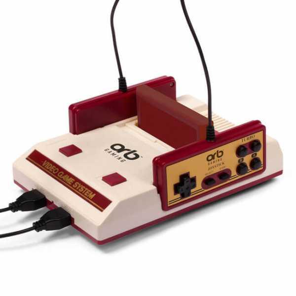ORB Retro Konsole Video Game System versetzt Dich zurück in die 80er Jahre.