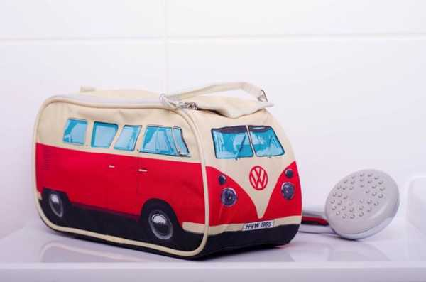 Necessaire VW Bus in rot