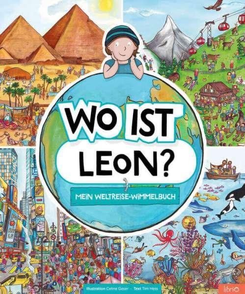 """Personalisierbares Wimmelbuch Startseite """"Wo ist Leon"""""""