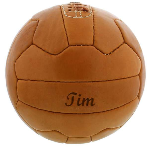 Personalisierbarer Fussball Retro mit Gravur
