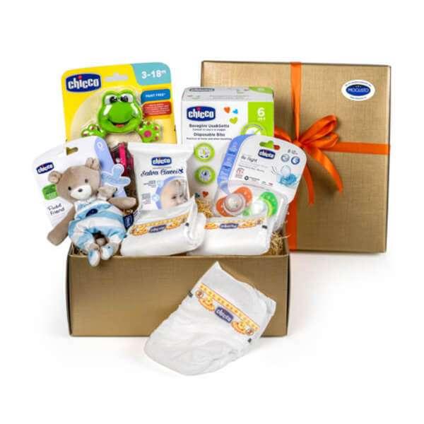 Geschenkbox zur Geburt - Bimbo