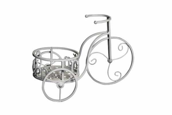 "Metall Pflanzenkorb ""Fahrrad"""