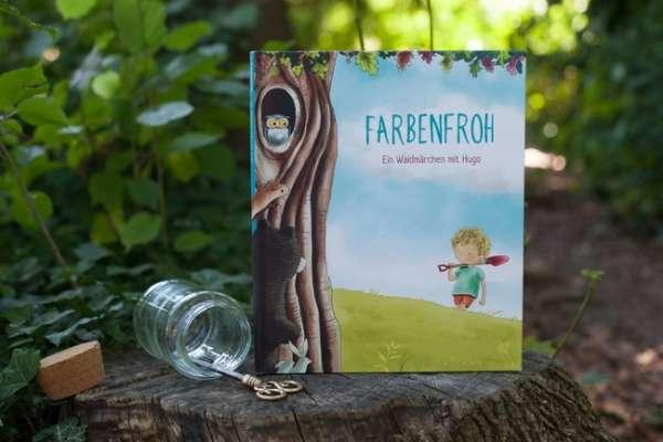 Personalisierbares Kinderbuch Schweizerdeutsch Farbenfroh