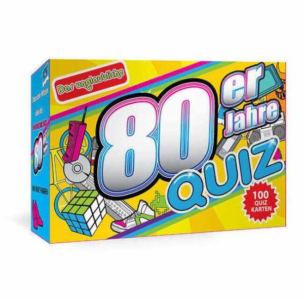 Kartenspiel 80er Jahre Quiz original
