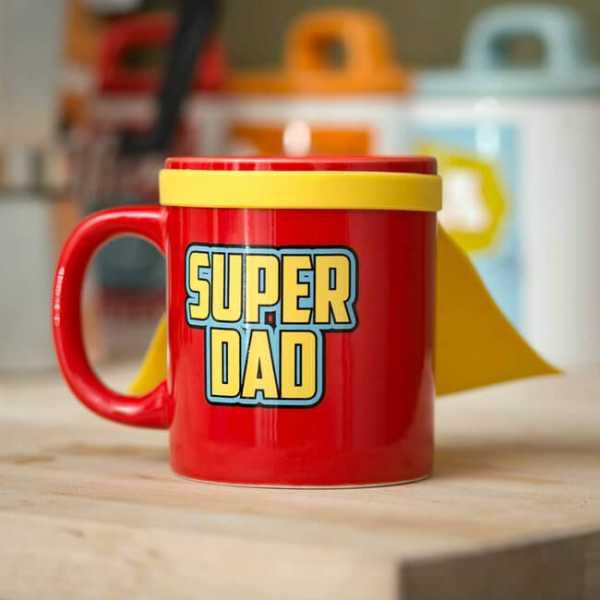 Tasse mit Super Dad Aufdruck