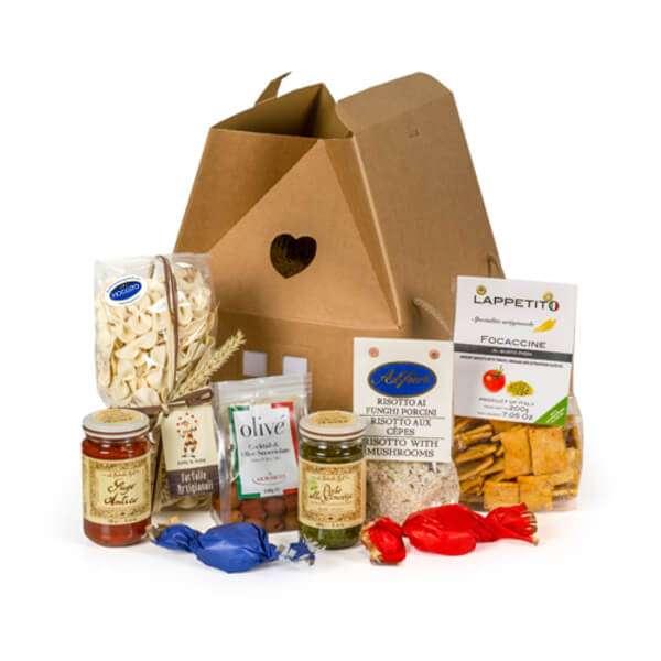 Geschenkbox Fragola italienische Spezialitäten