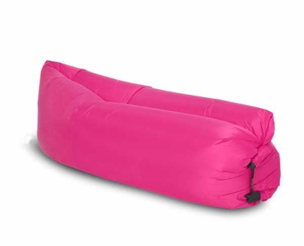 Aufblasbare Liege Pink