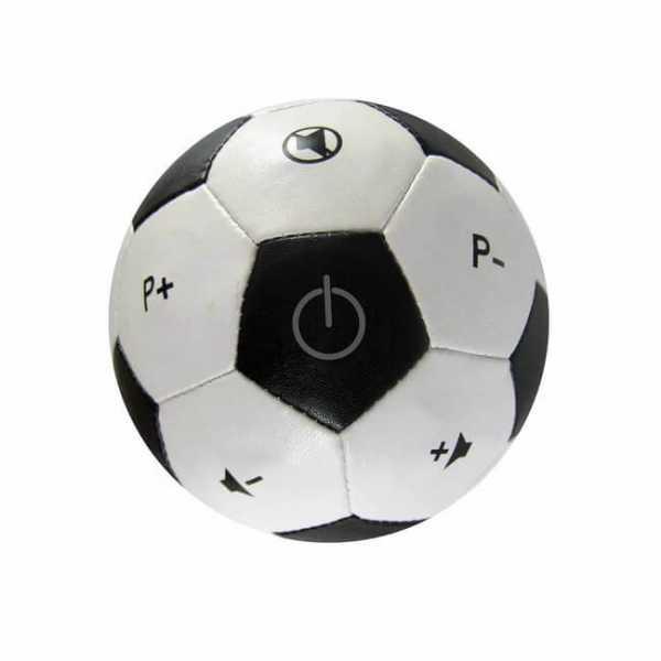 Fernbedienung Fussball schwarz weiss