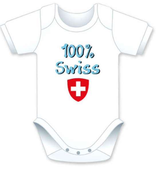 Baby Body 100% Swiss in weiss