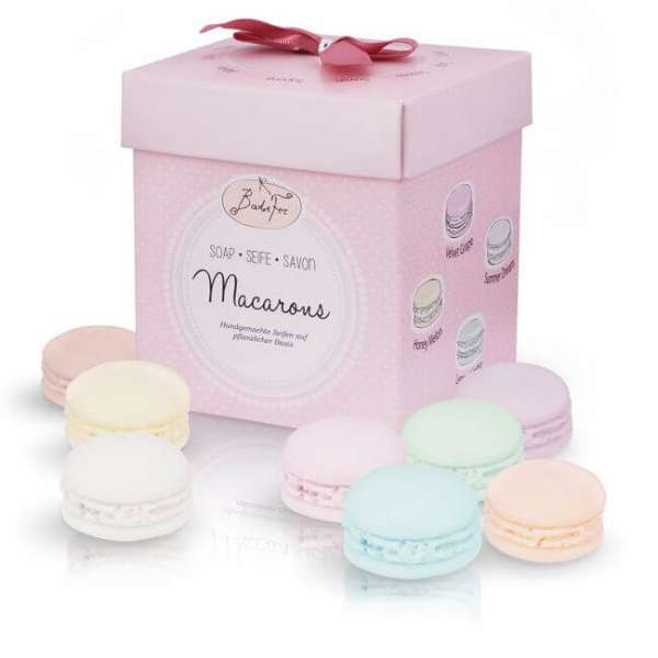 Seifen Macarons Geschenkset