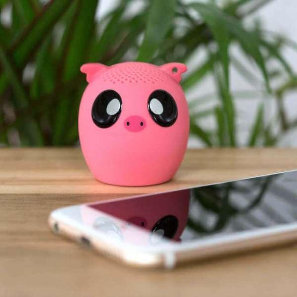 Bluetooth Lautsprecher Schwein mit Iphone