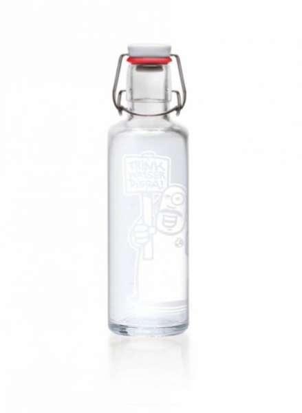 Wasserflasche Soulbottle trink Wasser digga - Vorderansicht