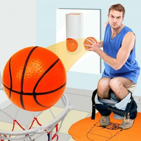Toilette Basketball