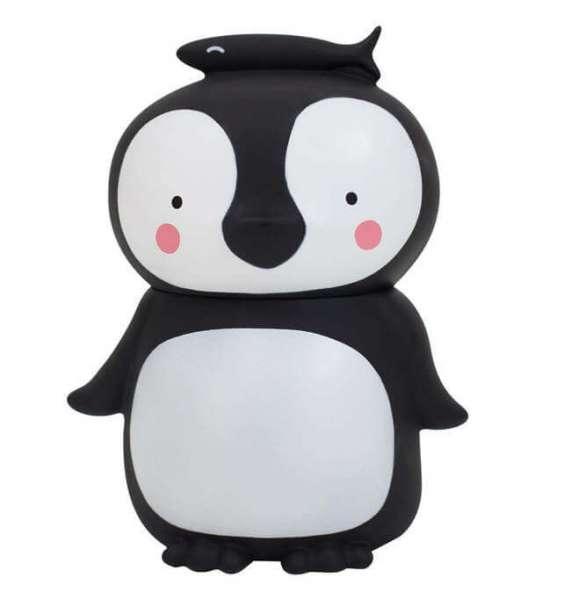Spardose Pinguin von vorne