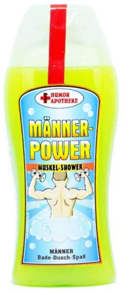 Duschgel power für Männer in grün