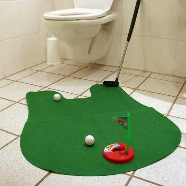 Golf Spiel Set für dein WC
