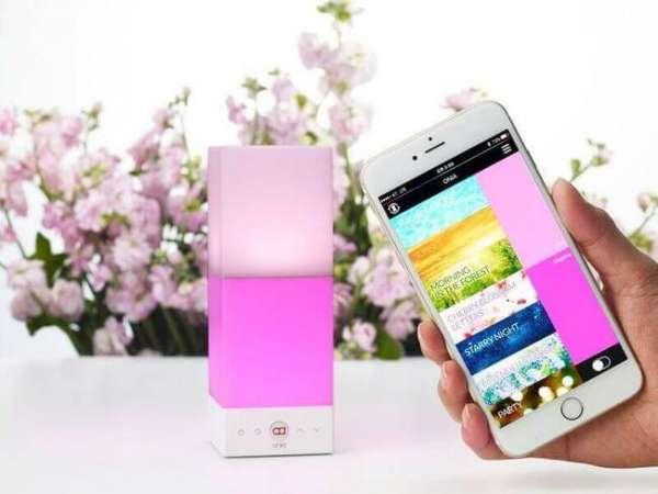 Designerlampe Onia mit Smartphone App