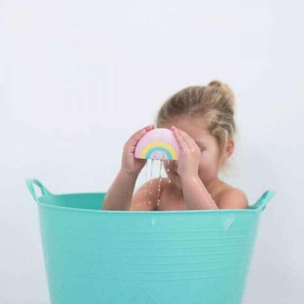 Spielzeug für Badewanne Regenbogen