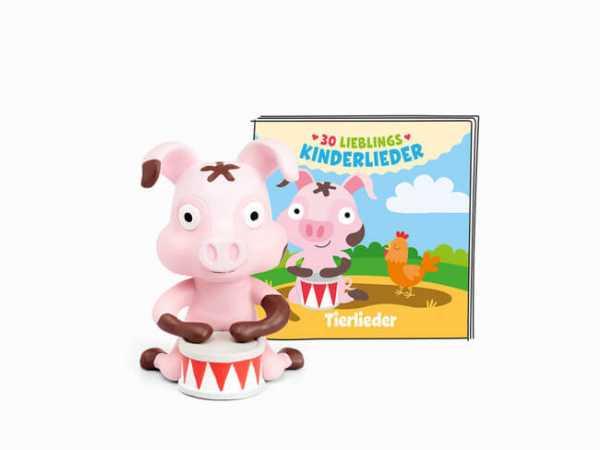 Tonies Hörspiel Schwein - 30 Lieblings-Kinderlieder / Tierlieder
