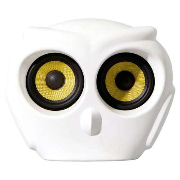 Bluetooth Lautsprecher a owl in weiss