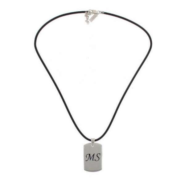 Personalisierbare Halskette mit Anhänger