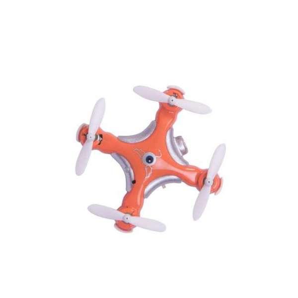 Minidrohne mit Ansicht von oben mit mini Kamera