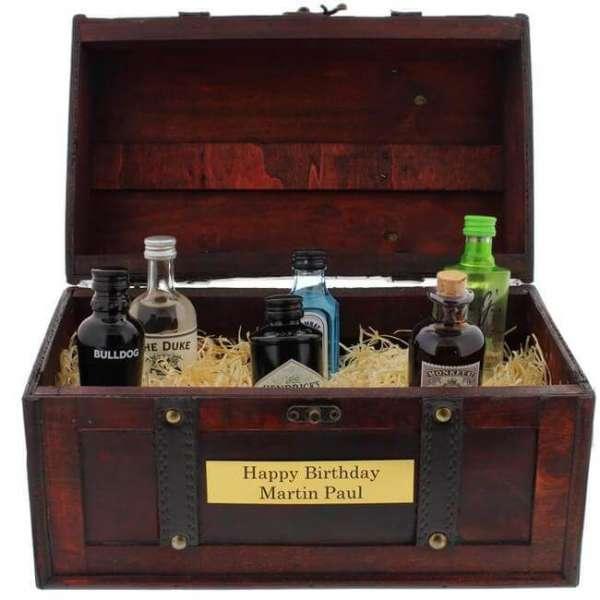 Personalisierbare Gin Geschenk Collection