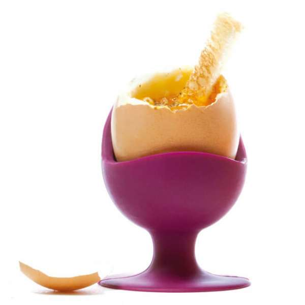 Eierbecher egg chair Farbe aubergine