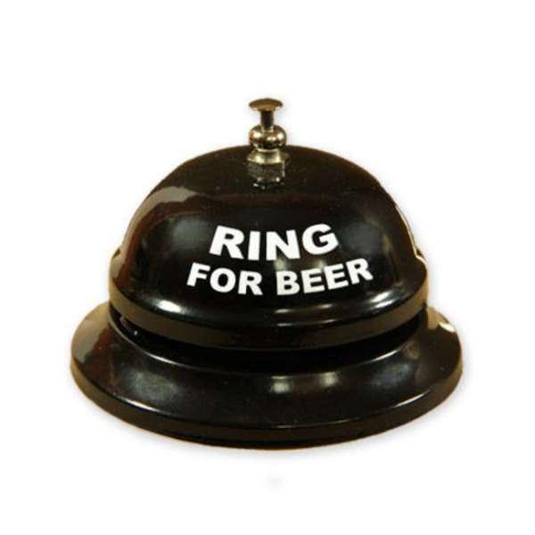 Metall Bierklingel Ring for Beer in schwarz